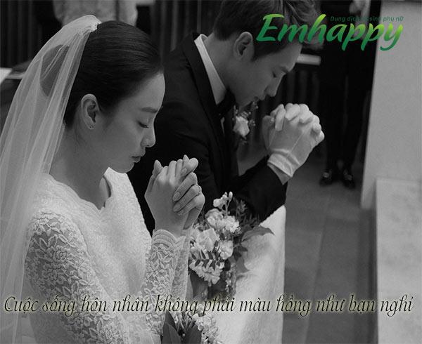Cuộc sống hôn nhân không phải màu hồng như bạn nghỉ