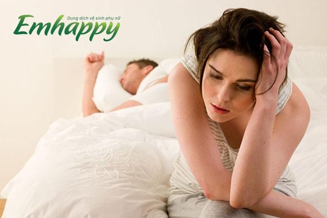 Khi mệt mỏi chuyện công việc tôi giảm ham muốn với chồng?