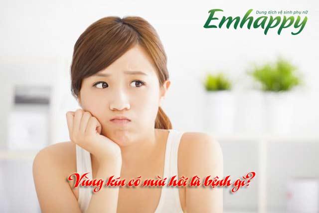 Vùng kín có mùi hôi là bệnh gì? Nguyên nhân và cách điều trị