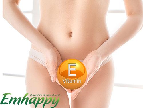 Tác dụng của vitamin E đối với sức khoẻ vùng kín